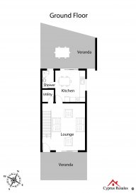 Kato Pervolia 3 Bedroom End Townhouse