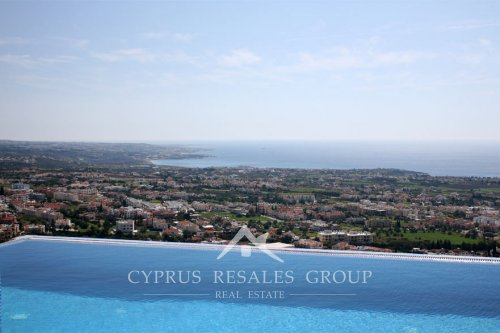 Villa Peyia Panorama, Cyprus - pool views over the Mediterranean coastline