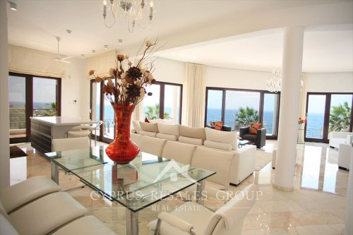 Sea Caves Villa Perfection, Cyprus - stylish dining area