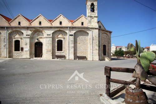 Agiou Mina church in Neo Chorio next to Polis
