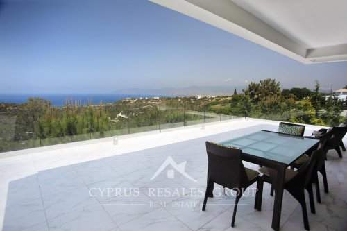 Amazing sea views from a luxury villa in Neo Chorio