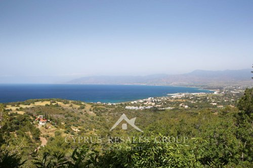 Astonishing views of Chrysochou Bay from the hill slopes of Neo Chorio