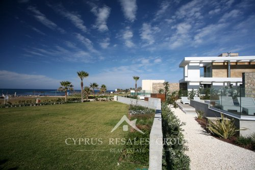 Modern villas at Paradise Cove in Kato Paphos