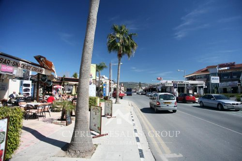 Coral Bay Avenue, Cyprus - everything from shops and jewellers to cafes and restaurants