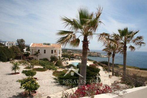 Beach front villa in Sea Caves, Paphos, Cyprus