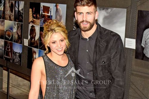 Columbian superstar Shakira & Barcelona footballer Gerard Pique.