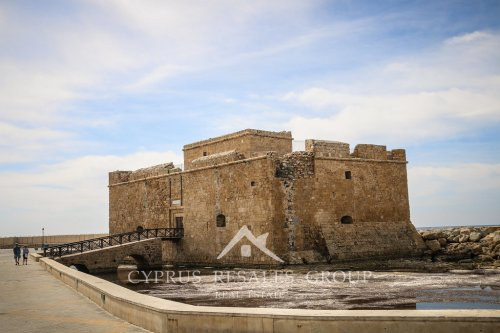 The Paphos Castle is an iconic landmark for Paphos, built to protect the harbour.