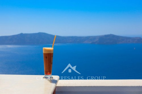 Coffee culture is huge in Cyprus! In summer the most popular variety of coffee is Frappe.