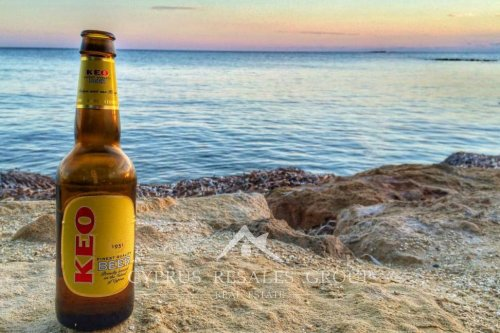 KEO beer is one of the popular choices to cool off during the hot Cypriot summer months!