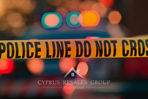 Cyprus' crime rates are very low.