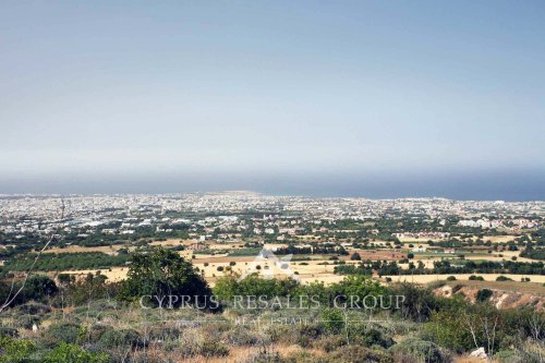 Picturesque views from hills of Tala, Paphos area in Cyprus