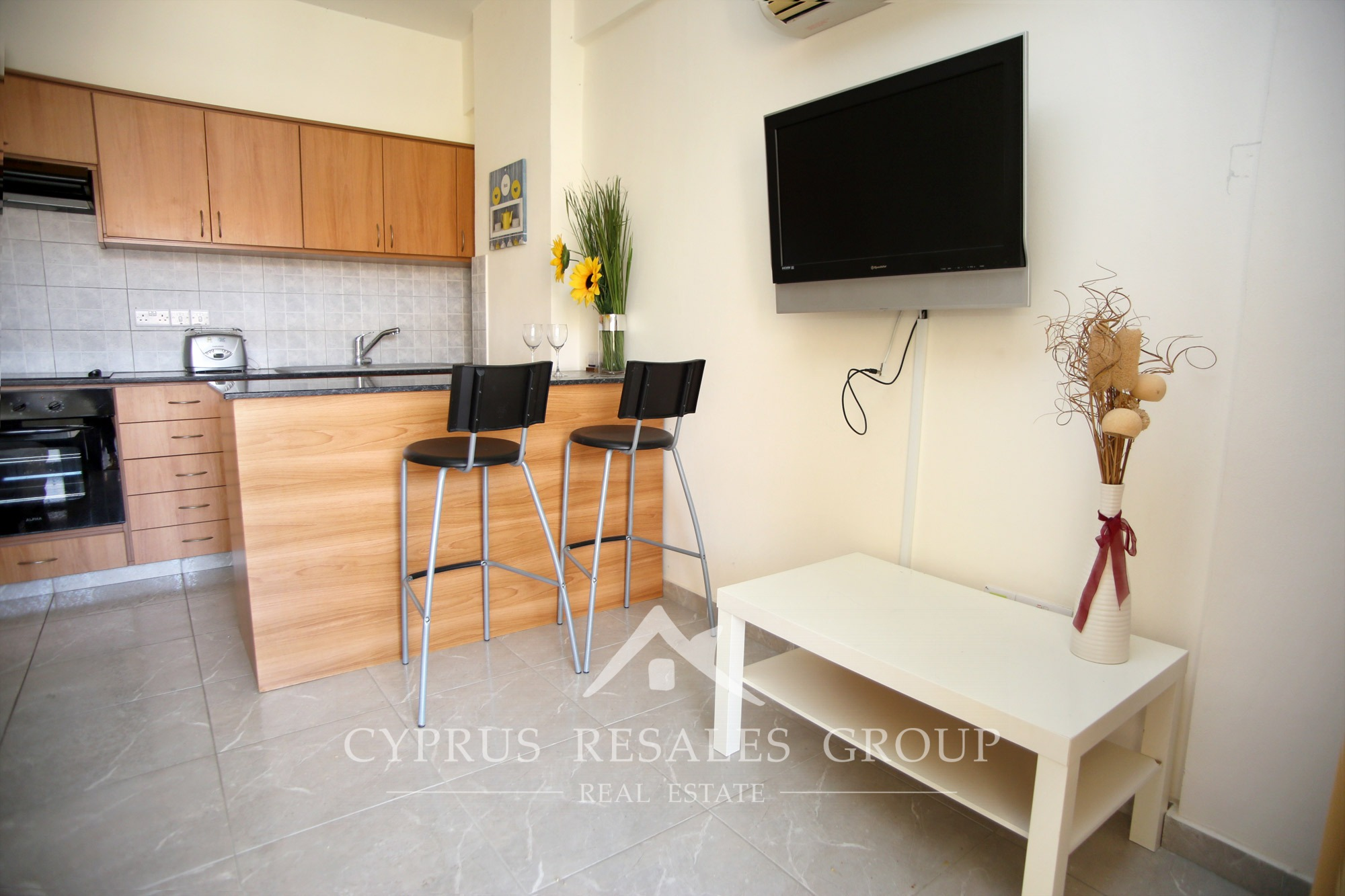 Apartment For Sale In Kato Paphos 1 Bedroom Apartment For Sale In Aristo Queens Gardens